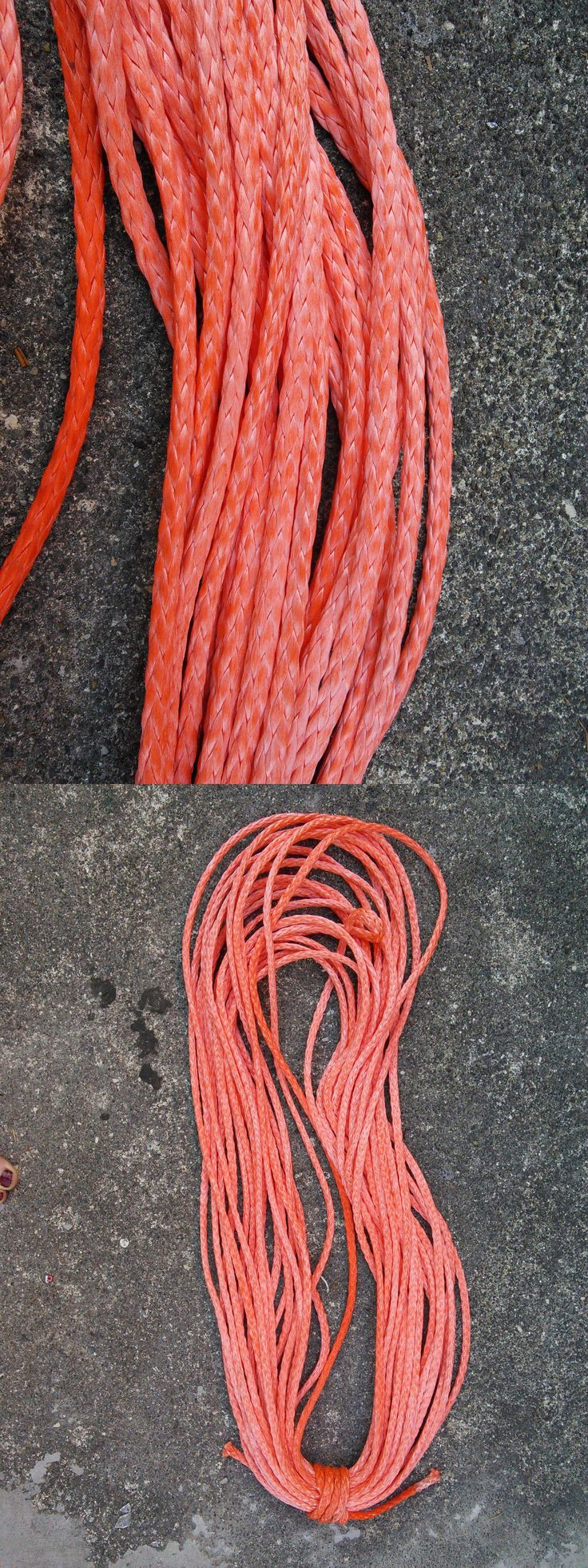 Ropes Cords and Slings 50816: 100 Of 3 16 Dyneema Sk-78 Wire Replacement Rope Light Synthetic Winch Line -> BUY IT NOW ONLY: $50 on eBay!