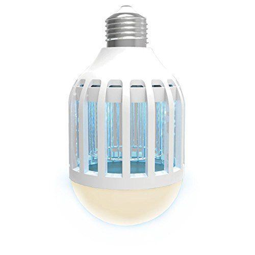 Ampoule Tueuse de Moustiques – Eclaire et élimine – 920 lumens – LED basse consommation: Price:14.98– Une ampoule anti-moustiques pour…
