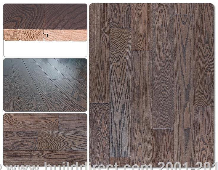 Builddirect Hardwood Flooring Stained Red Oak Flooring