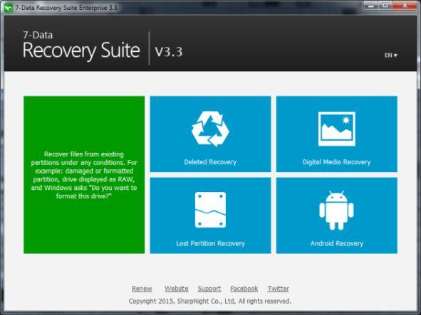 7 Data Recovery Suite 3.3 Registration code + Crack Keygen ...