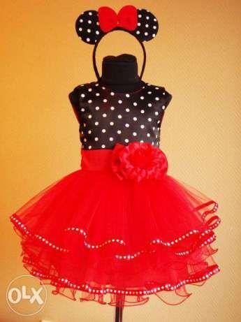 Платье детское нарядное Мини Маус с ушками Кременчуг - изображение 1