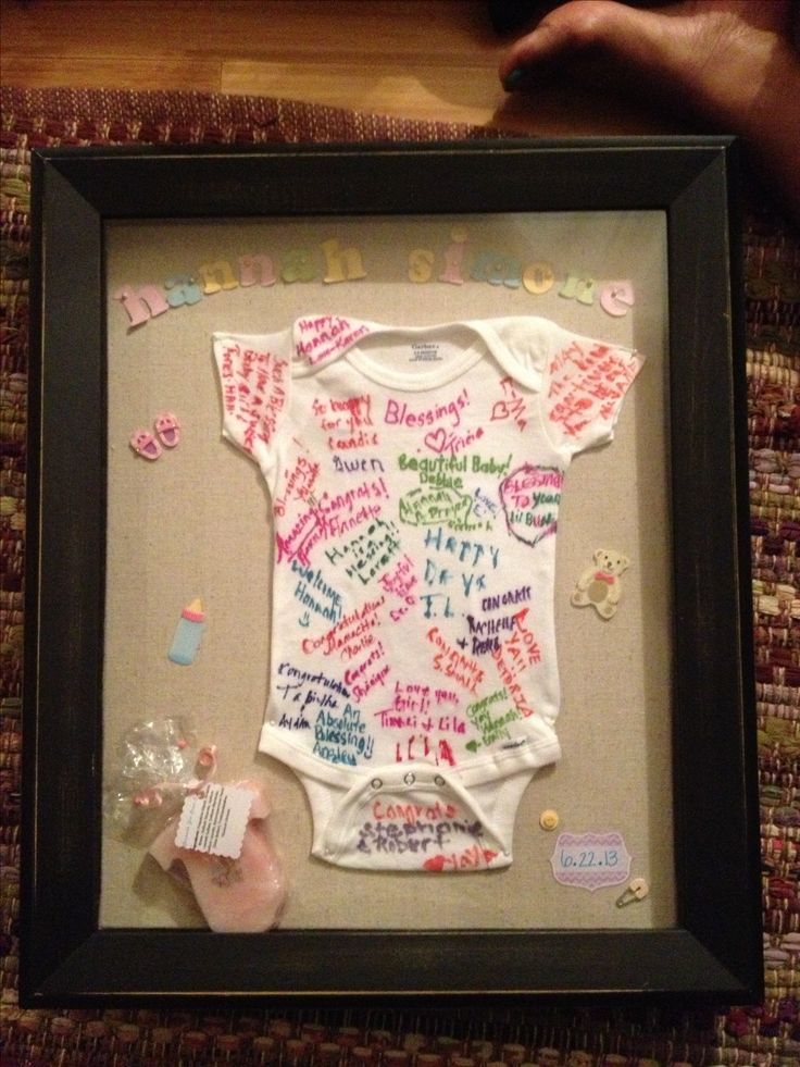 Sweet baby shower sign in alternative :-) I loved making ...