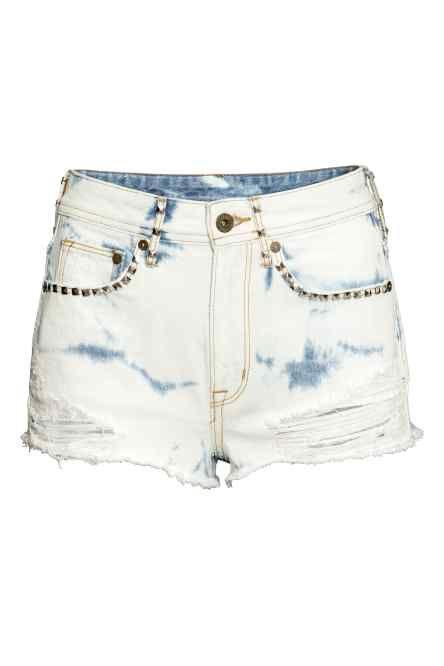 Szorty dżinsowe High waist