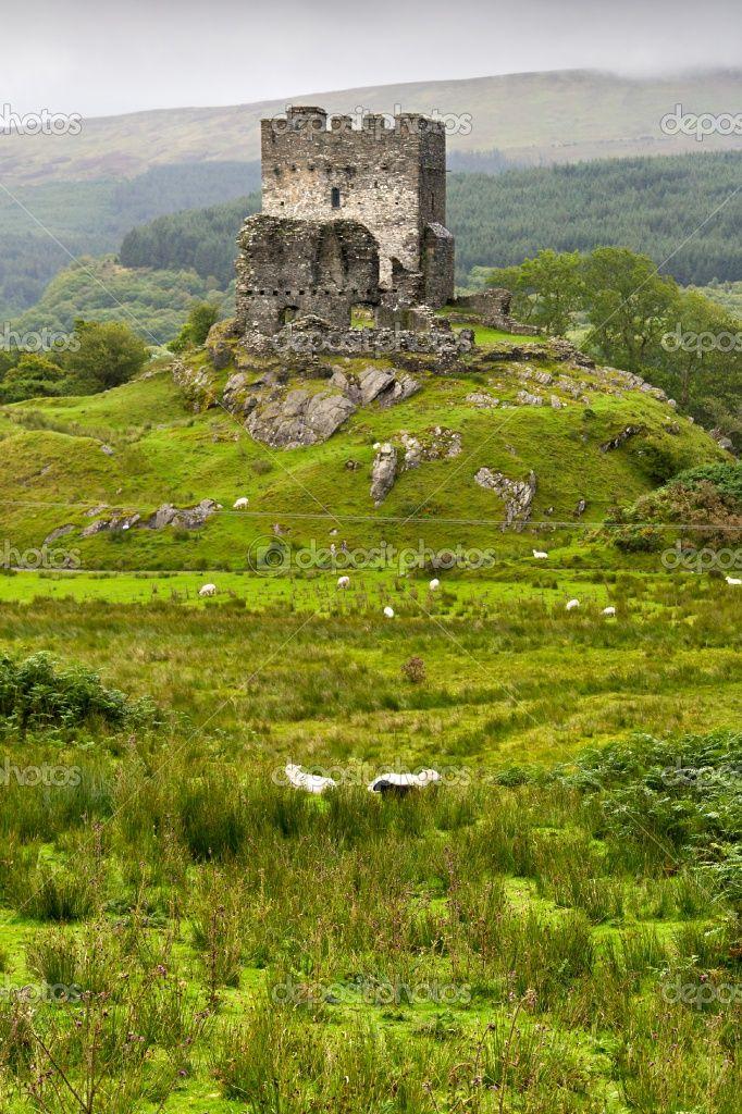 Dolwyddelan Castle in Snowdonia, Wales