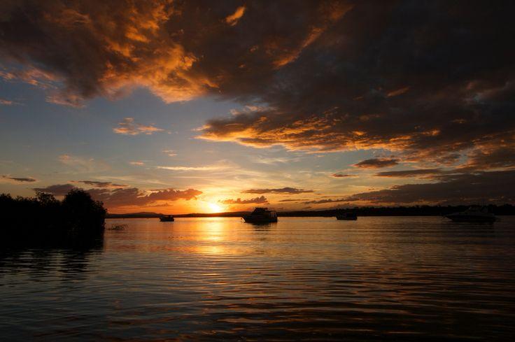 Sunrise over Myall River, Winda Woppa, NSW Australia  Copyright of Jo Thom