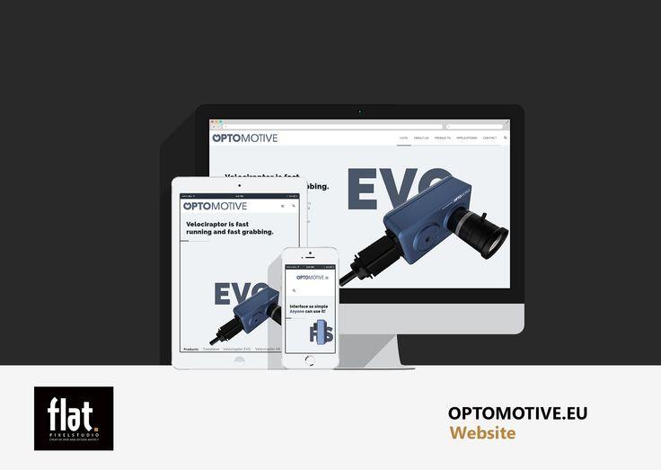 NEW - Optomotive website. More at: http://flatpixel.si/optomotive.html  #websiteagency #flatpixelweb #flatpixelstudio #webdesign