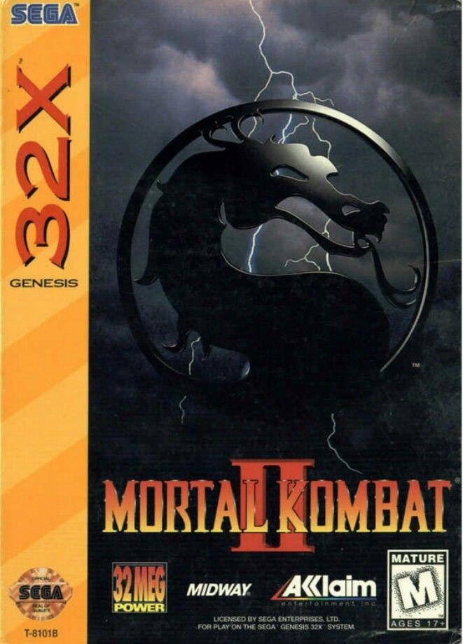 mortal kombat 2 on 32x