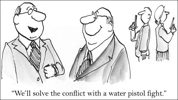 Come classificare un conflitto? | 3 - Le tipologie del conflitto | GestConf101 Courseware | POK