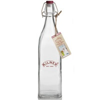 Kilner preserve bottle perfect for homemade oils and preservesSquares Bottle, Litre Squares, Kilner Clips, Quality Squares, Clips Tops Bottle, Preserves Clips Tops, Preserves Bottle, Products, Kilner Bottle
