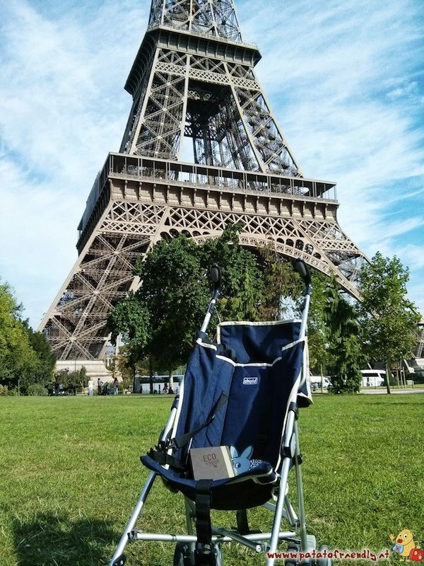 A Parigi con il passeggino