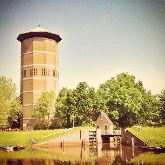 Water Tower at Turfmarkt, Zwolle