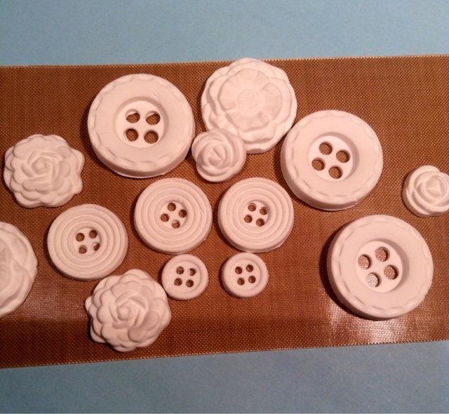 GeorgiesMom: Simply Pressed Clay & Moulds... New from Stampin' Up!... Freezer method... See blog post