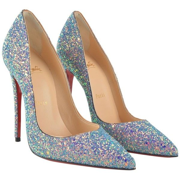 size 40 35d9c 7e659 Christian Louboutin So Kate Glitter Heels ($725) ❤ liked on ...