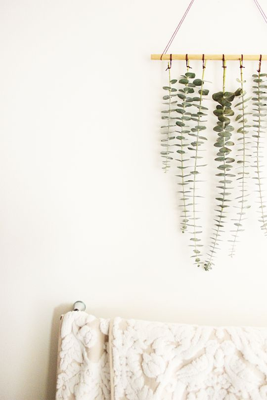 All the Ways To Decorate With Eucalyptus This Winter
