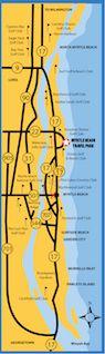 Myrtle Beach Travel Park Maps & Directions | Myrtle Beach Travel Park