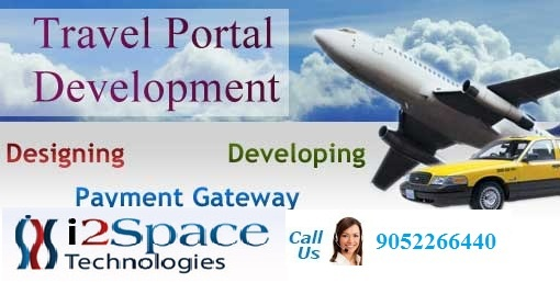 Travel portal Development - i2Space technologies India's No 1 Online Travel portal Platform provides Travel portal Development to travel consultation, searching for trip plans, seat layout, providing customized tour packages, booking tickets, etc.