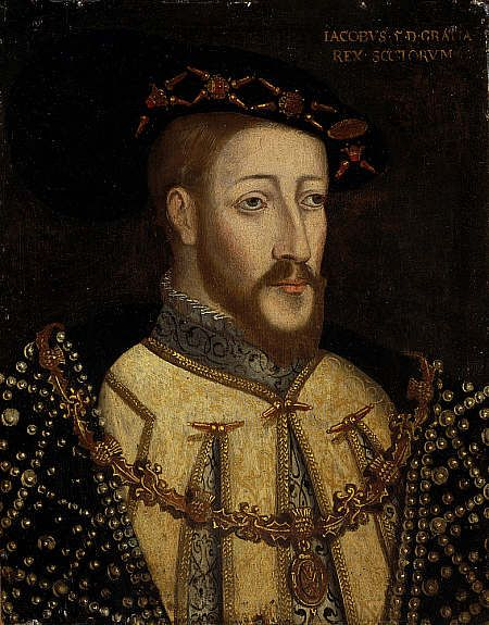 James V, 1512 - 1542. Father of Mary, Queen of Scots. Reigned 1513 - 1542