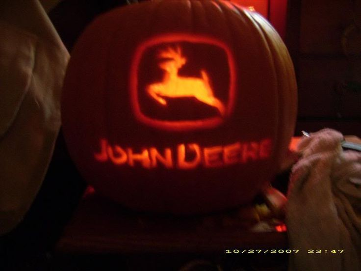 Pumpkin carving redneck style ideas for work