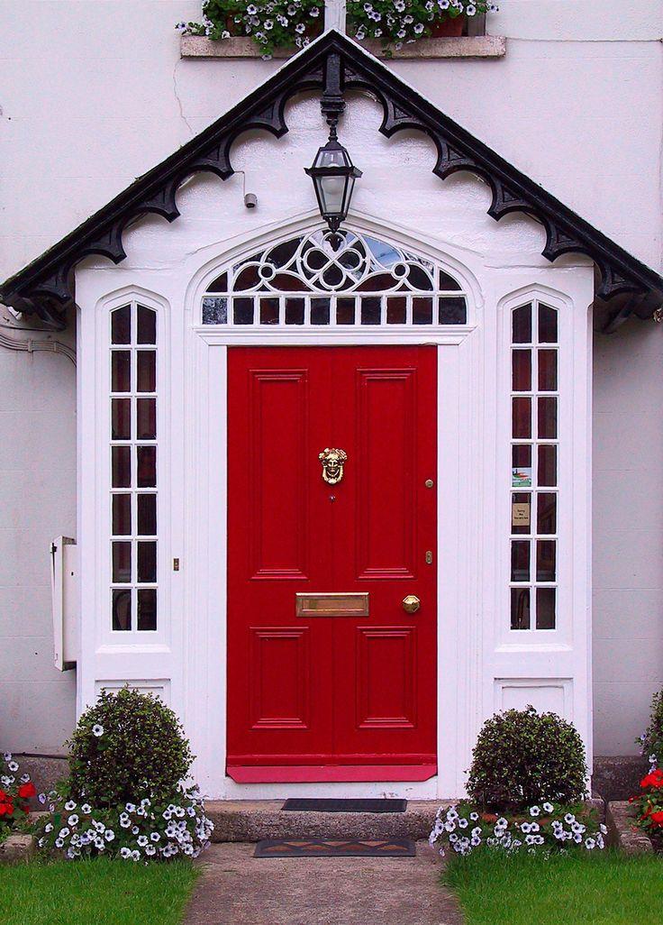happy red door 98 best Colorful Doors