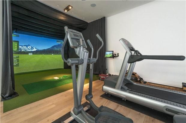 Man Caves Holland Ohio : Images about golf simulator on pinterest city