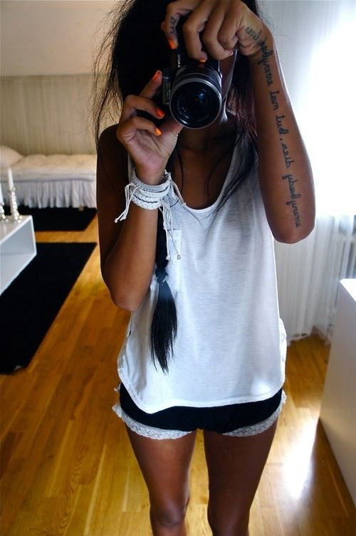 Love this tattoo placement