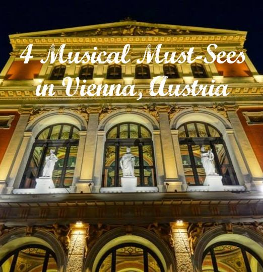 The Musikverein building, home of the Vienna Philharmonic