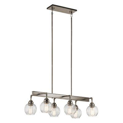 Kichler Dining Room Lighting Extraordinary Kichler Niles 43994 Linear Chandelier  43994Ap  Products Design Decoration