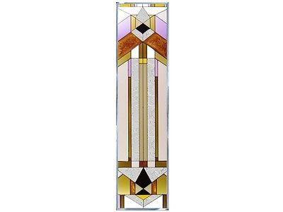 42x10 DECO-TECTURAL Stained Art Glass Window Panel Suncatcher – Tapestry Shoppe