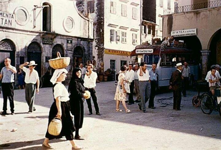 Corfu. 1960 - Photo by Stephan Dimos