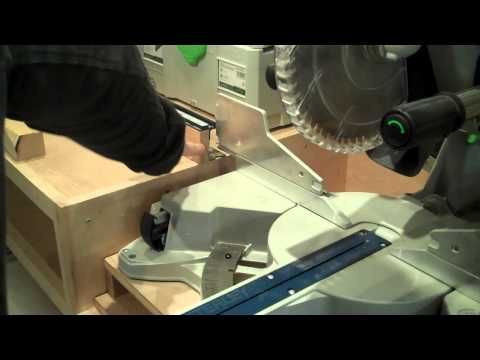 Ultimate Miter Saw Stand with Festool Kapex - YouTube