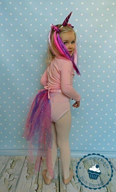 DIY Einhorn Kostüm | Anleitung | Tutorial | Schweif | unicorn costume | nähen | basteln | Horn | Freebie pattern