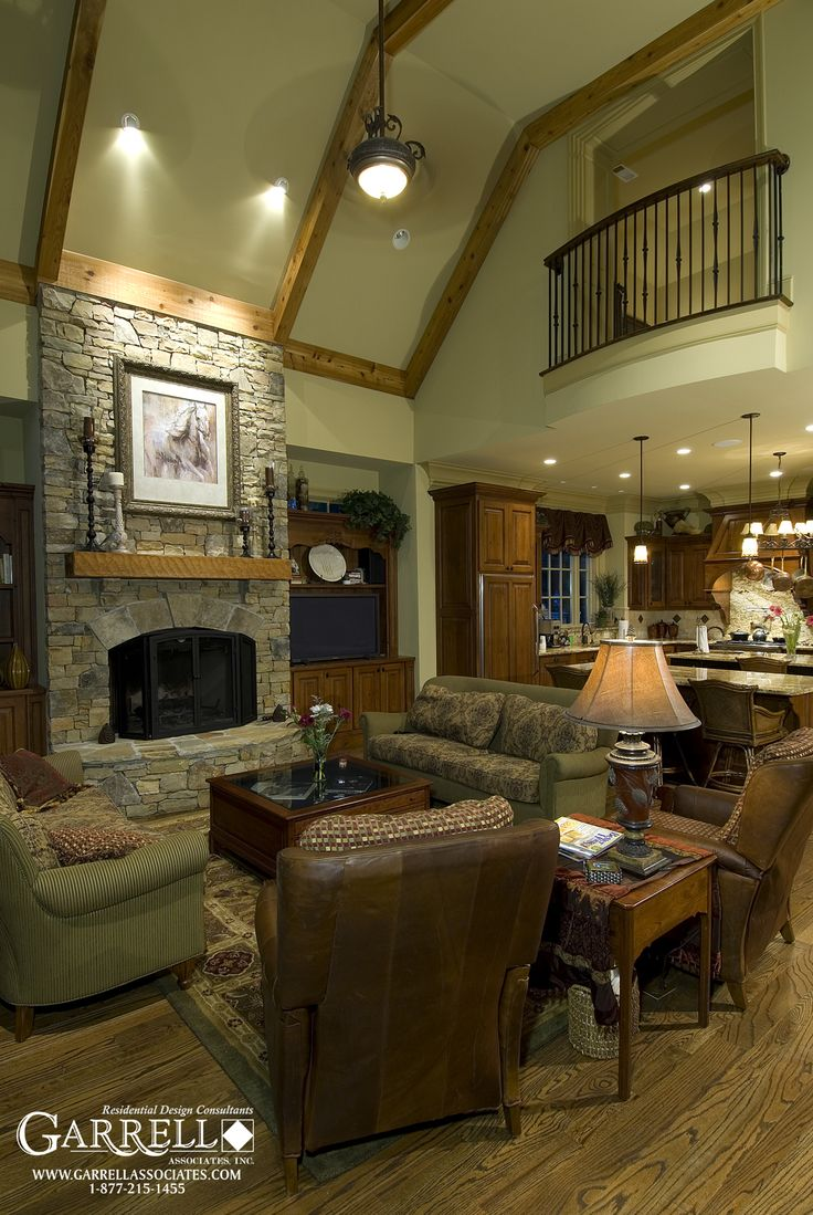 111 best images about keeping family rooms on pinterest for House plans with keeping rooms
