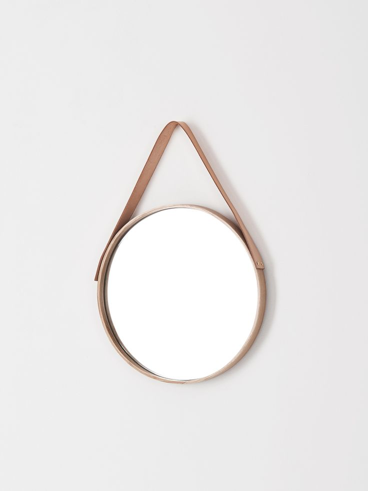 All Oak Mirror Made by Douglas and Bec - 500mm - Douglas + Bec