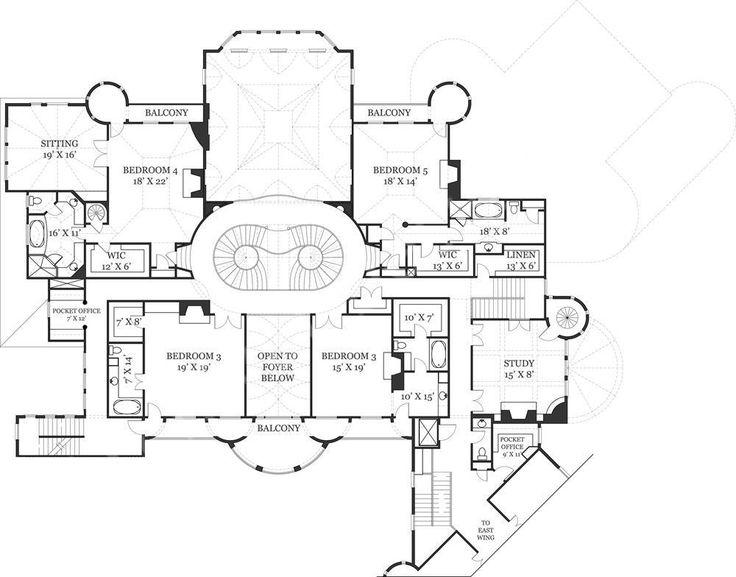 300 best floor plans images on pinterest architecture, house Catherine House Model Floor Plan castle of ourem house plan second floor catherine house model floor plan