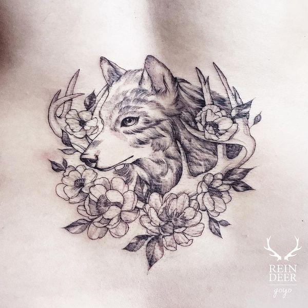 16 Imagenes de lobos para tatuar
