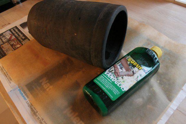 Står du med en utæt urtepotteskjuler ? Så kan du læse, hvordan du får den tæt her.