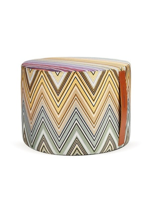 Kew Cylindrical Pouf by Missoni Home on Gilt Home