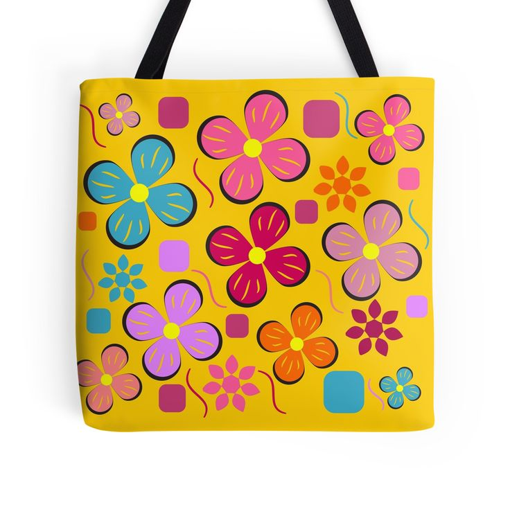 #Summer in the #garden by cocodes #totebag #Redbubble