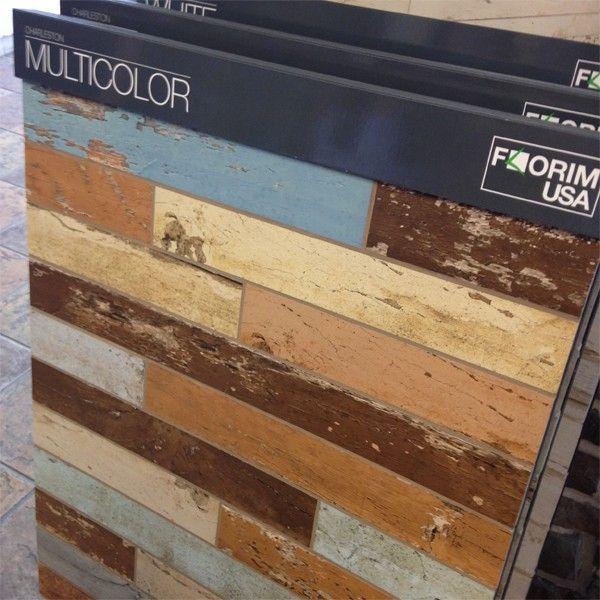Florim USA   Distressed Wood Tile
