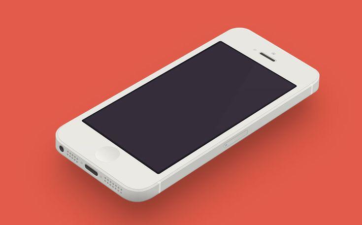 10 Mockups Gratis Plantillas para iPhones 5s