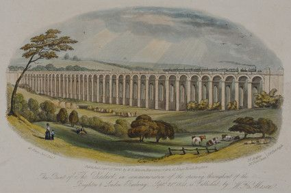The Viaduct by George Earp, 1841