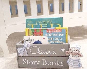 Personalised TOY CRATE children's storage by Littlelightstudios