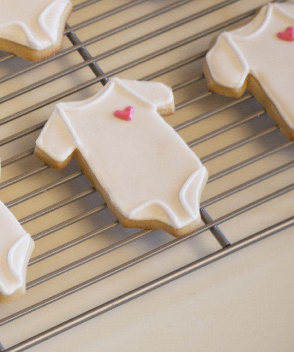 christmas onesie cookies