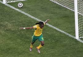 Siphiwe Tshabalala's goal at the 2010 World cup