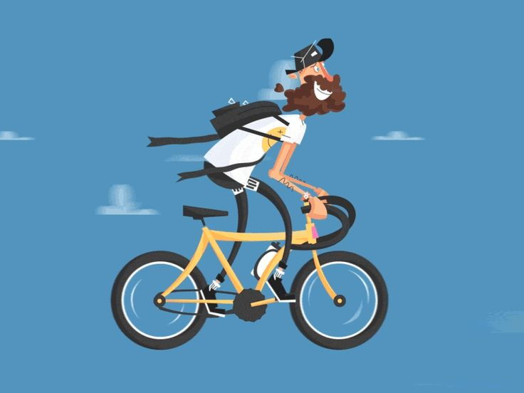 dribbblepopular:  Going for a Spin Original: http://ift.tt/1zrHOOD