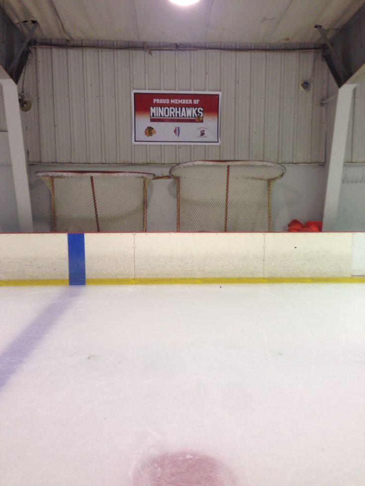 Downers grove ice arena skating schoolminorhawks call
