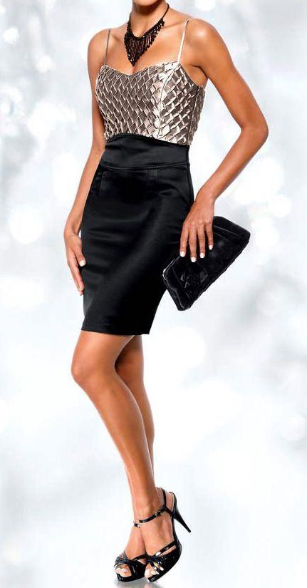 robe femme de soiree cocktail tailleur courte argent noir marque doridorca par uncadeauunsourire