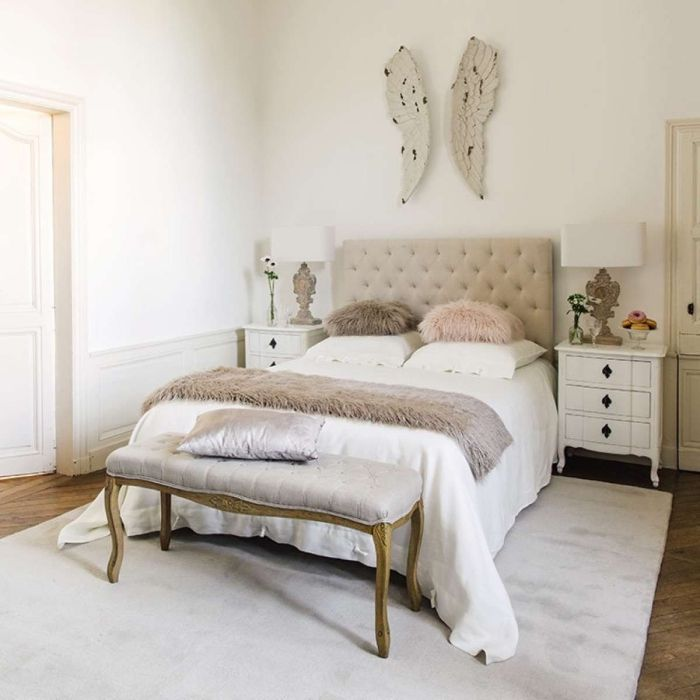 Chambre Blanche Adulte. Ide Dco Chambre Adulte Suggestions En ...