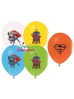 Superman Balon (20 adet)