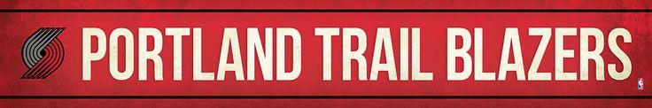 Portland Trail Blazers Street Banner $19.99